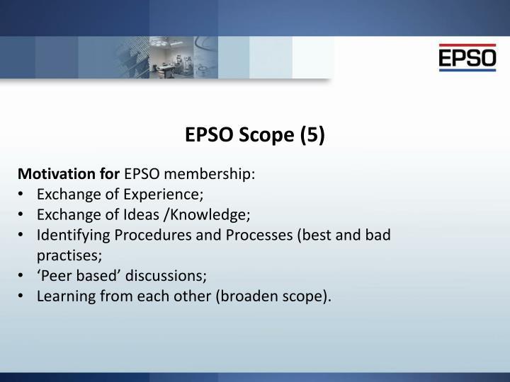 EPSO Scope (5)