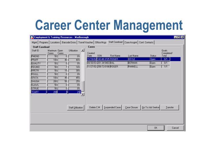 Career Center Management