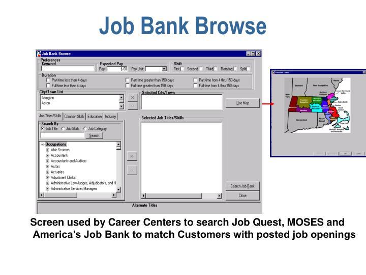Job Bank Browse