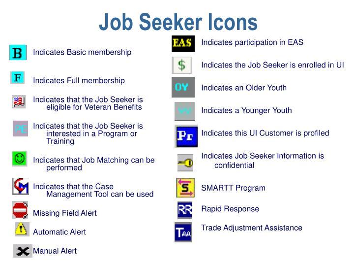 Job Seeker Icons