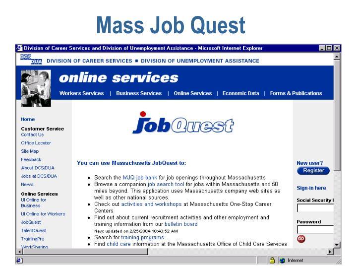 Mass Job Quest