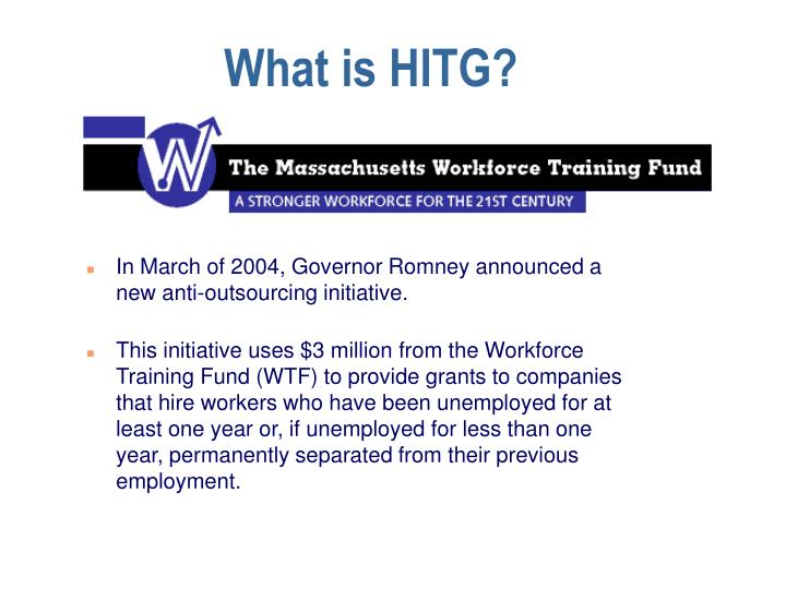 What is HITG?