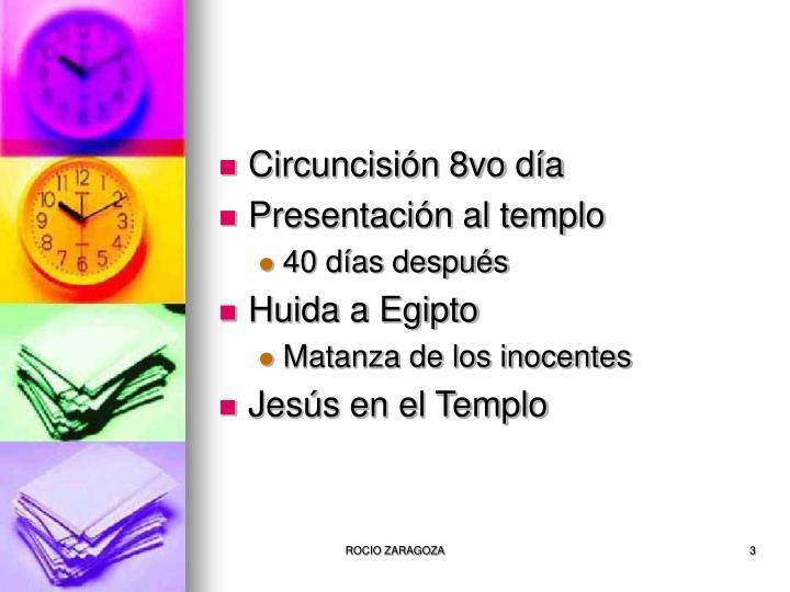 Circuncisión 8vo día