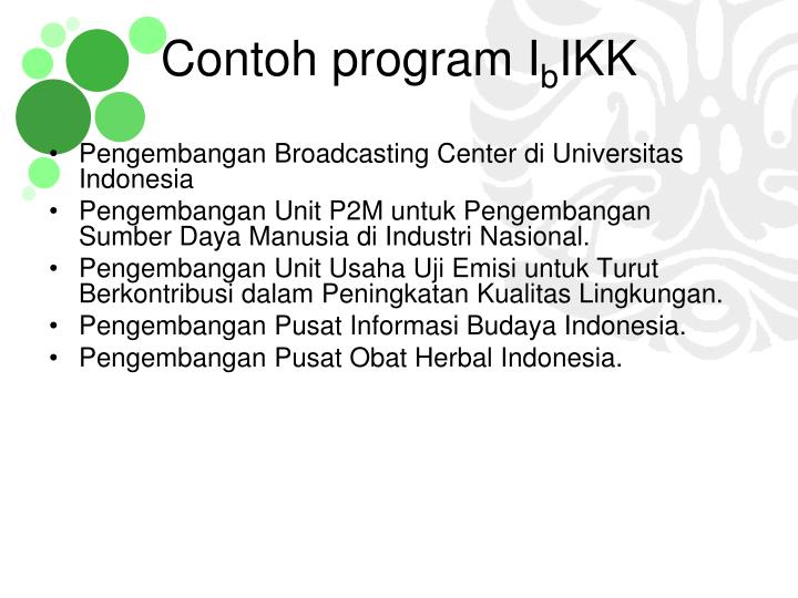 Pengembangan Broadcasting Center di Universitas Indonesia
