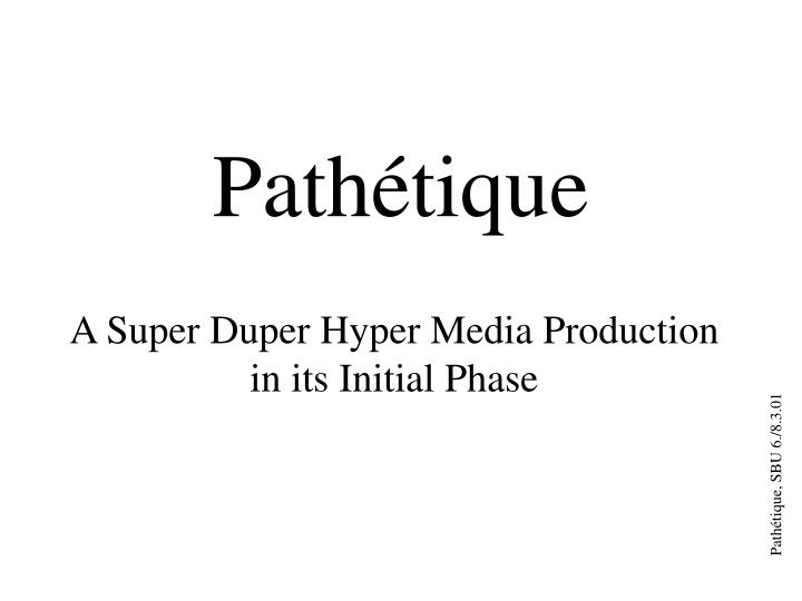 path tique