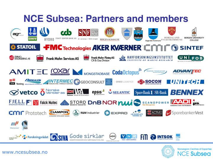 NCE Subsea: Partners and members