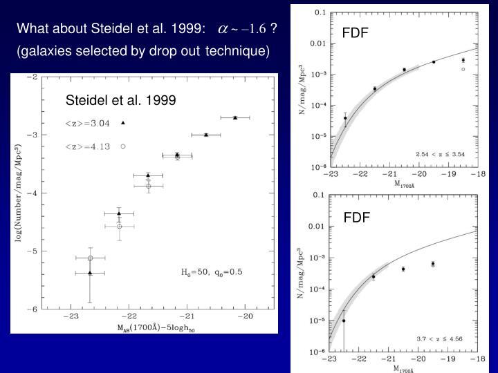 What about Steidel et al. 1999: