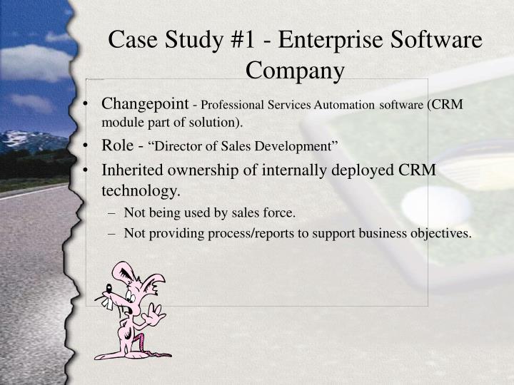 Case Study #1 - Enterprise Software Company