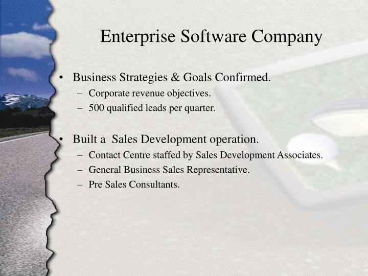 Enterprise Software Company