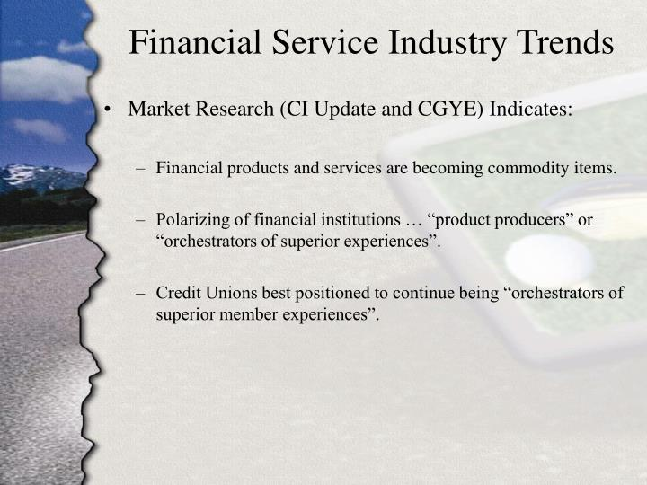 Financial Service Industry Trends