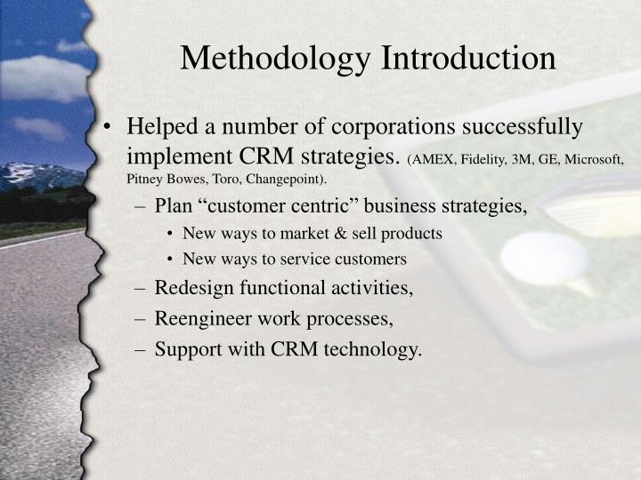 Methodology Introduction