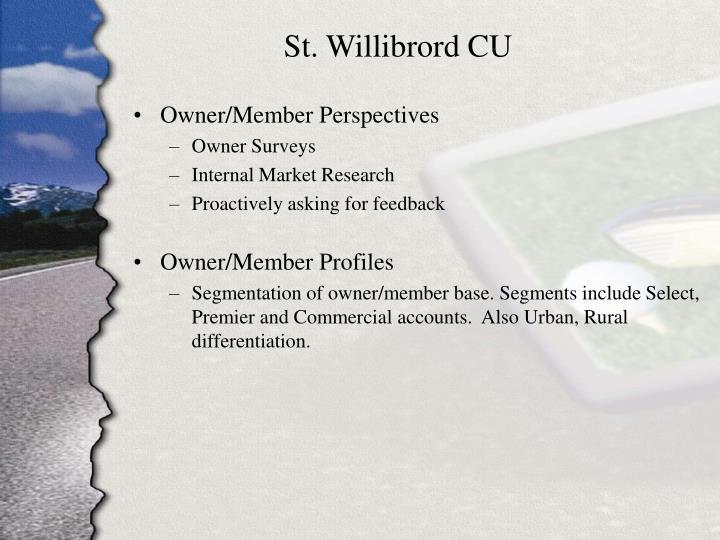 St. Willibrord CU