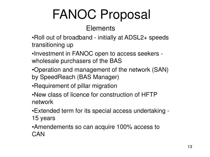 FANOC Proposal
