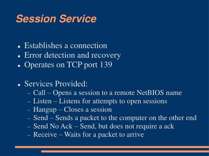 Session Service