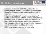 the helpdesk initiative