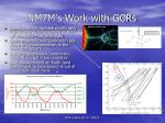 nm7m s work with gcrs