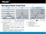 managing retail credit risk
