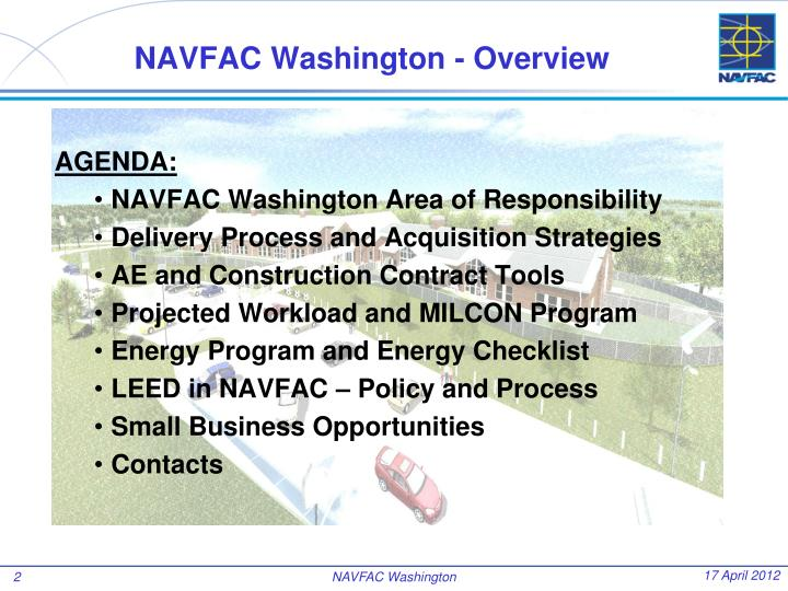 NAVFAC Washington - Overview