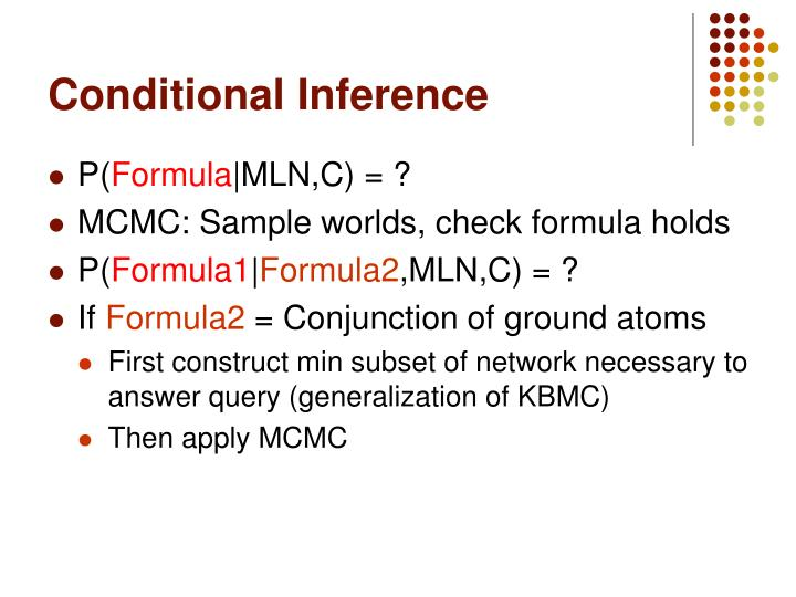 Conditional Inference