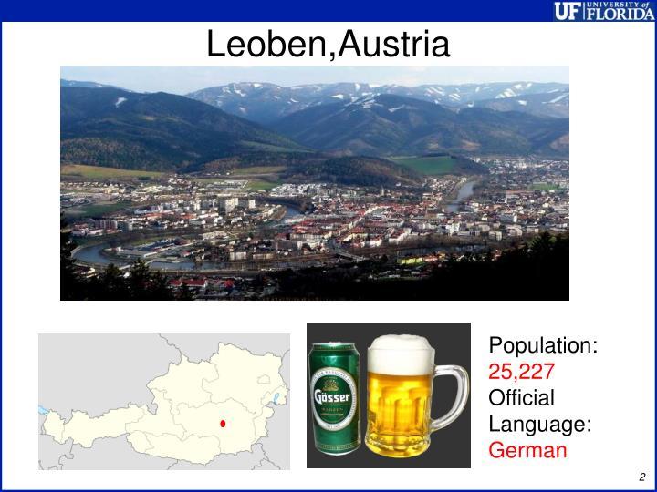 Leoben,Austria