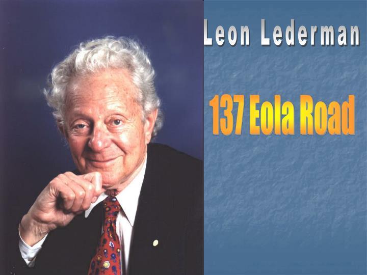 Leon Lederman