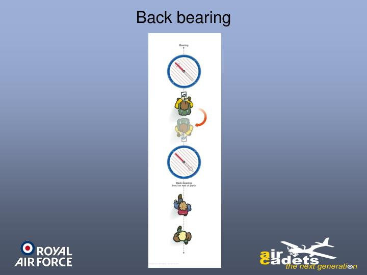 Back bearing