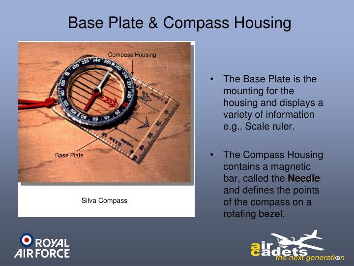 Base Plate & Compass Housing