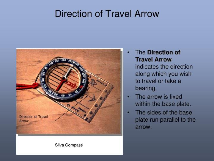 Direction of Travel Arrow