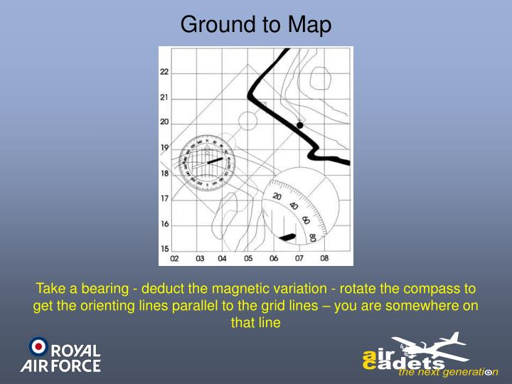 Ground to Map