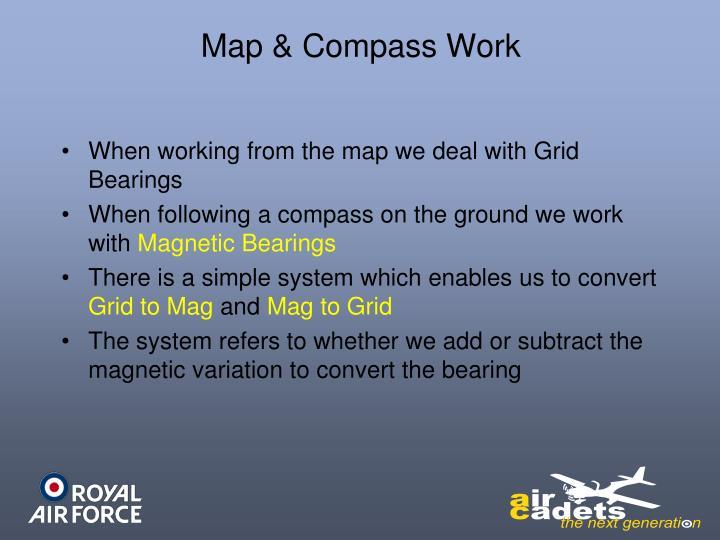 Map & Compass Work