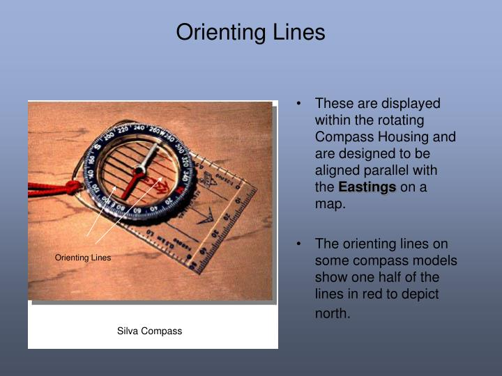 Orienting Lines