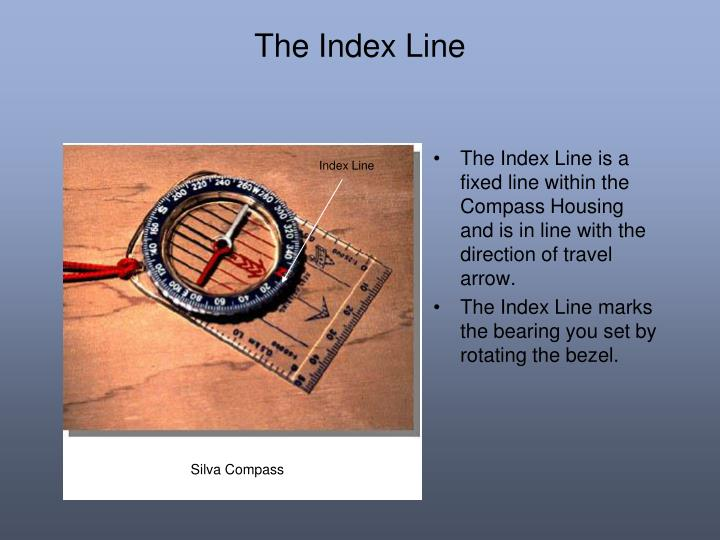 The Index Line