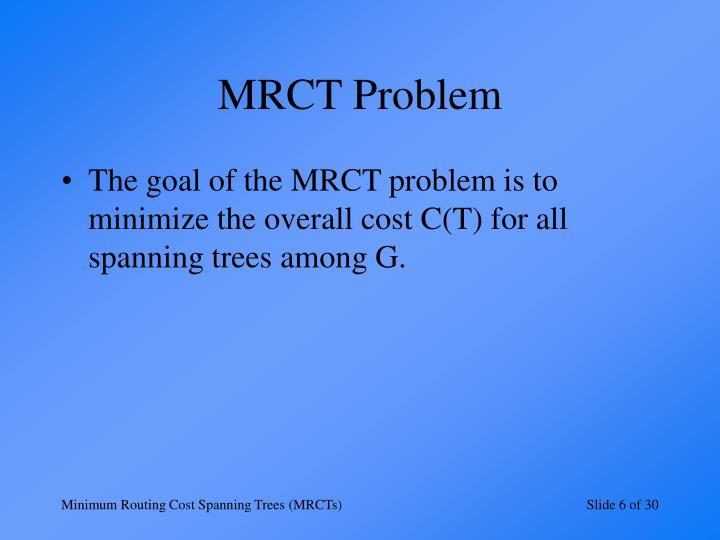 MRCT Problem