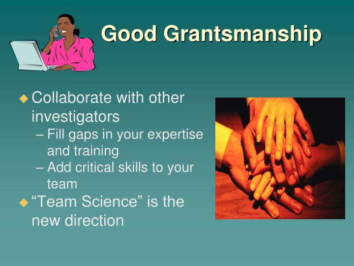 Collaborate with other investigators