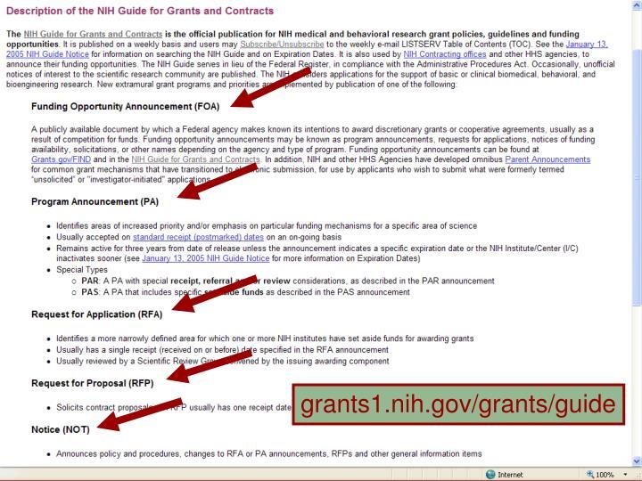 grants1.nih.gov/grants/guide