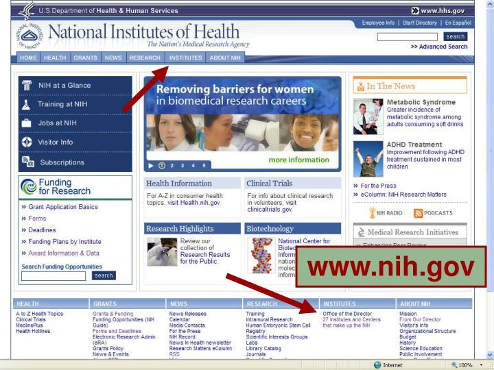 www.nih.gov