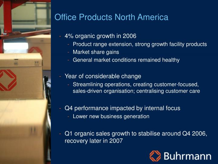 Office Products North America