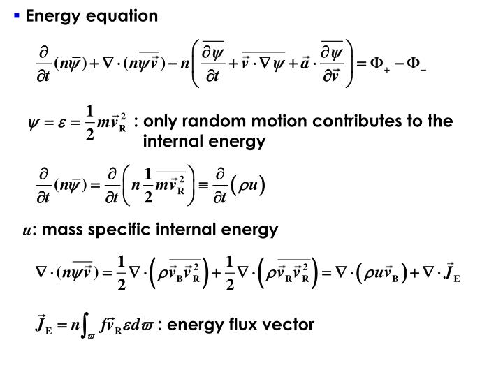 : energy flux vector