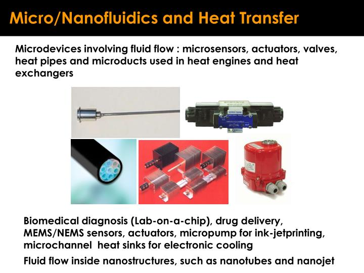 Micro/Nanofluidics and Heat Transfer