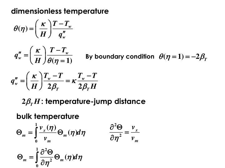 dimensionless temperature