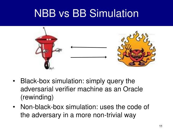 NBB vs BB Simulation
