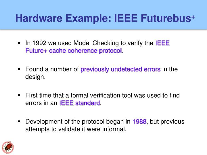 Hardware Example: IEEE Futurebus