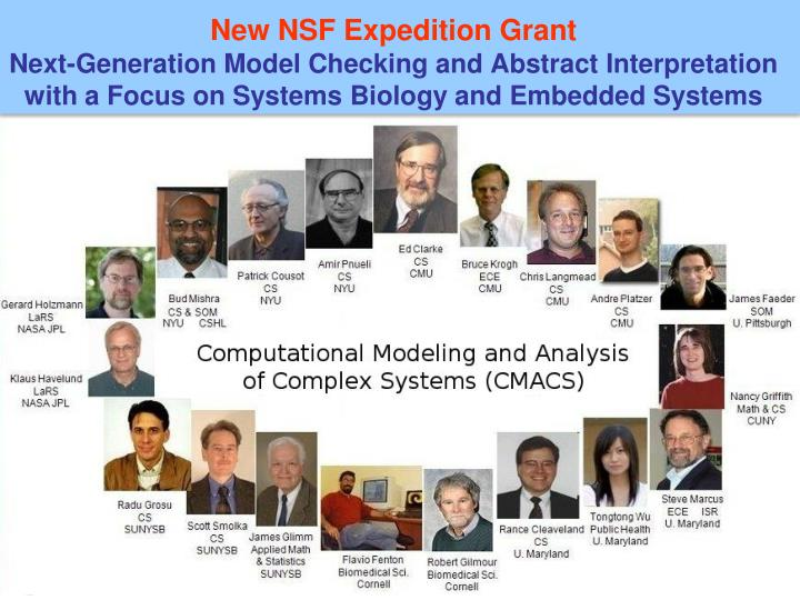 New NSF Expedition Grant