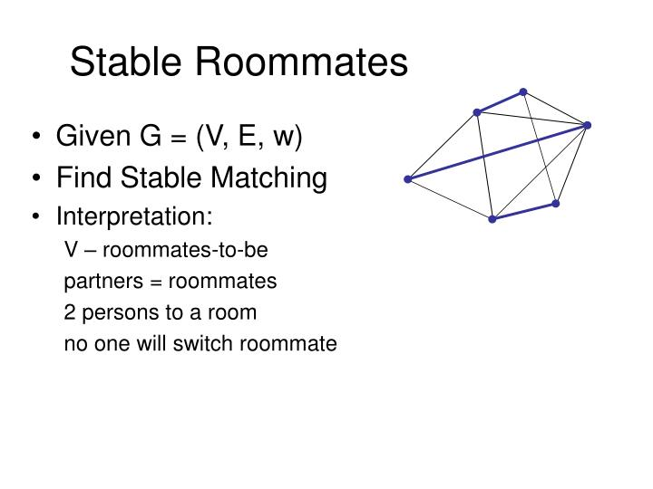 Stable Roommates