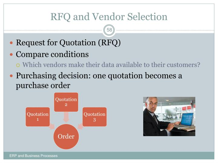 RFQ and Vendor Selection