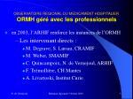 observatoire regional du medicament hospitalier ormh g r avec les professionnels