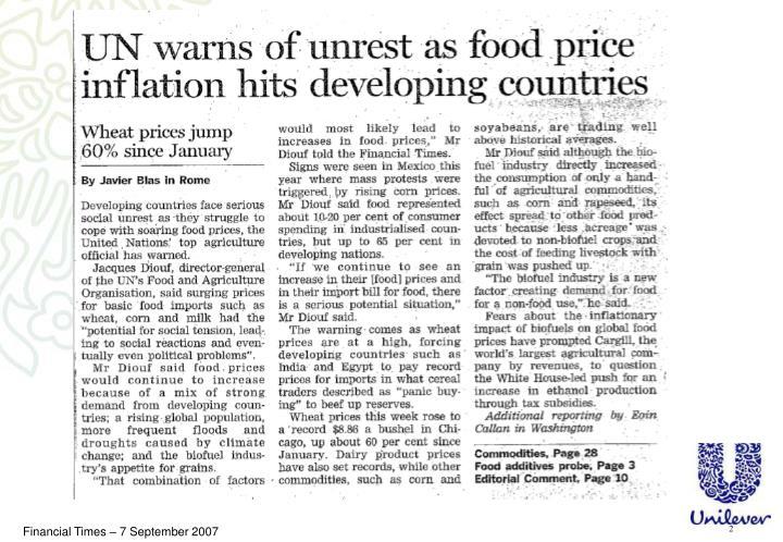 Financial Times – 7 September 2007