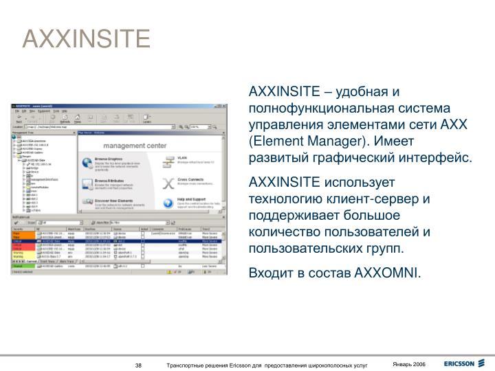 AXXINSITE
