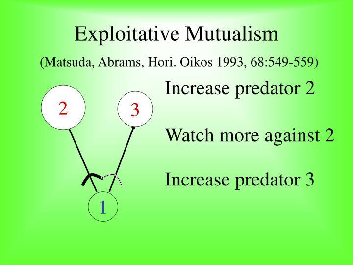Increase predator 2