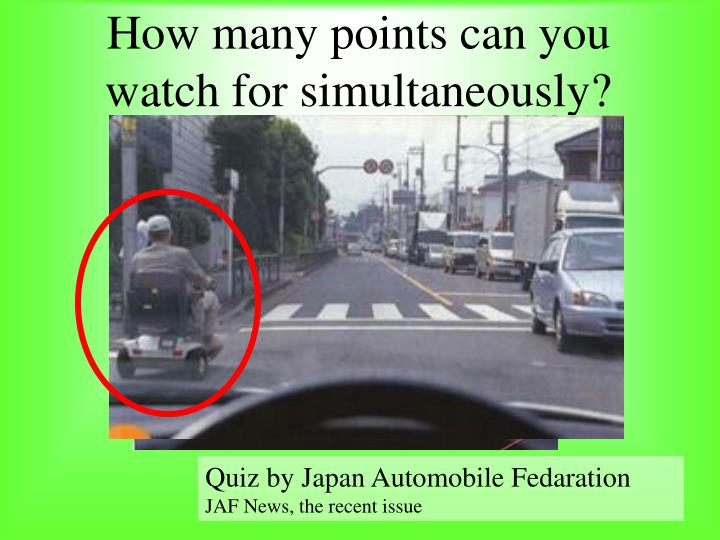 How many points can you watch for simultaneously?
